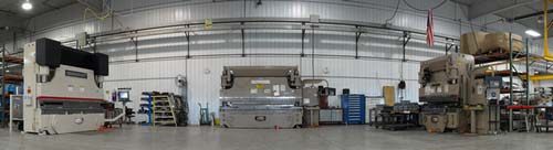 Cincinnati Pressbrake setup for starlandmetals