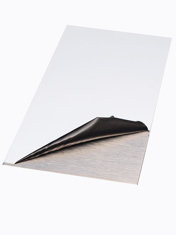 Stainless Steel Sheet 304 #4 Brush Polished Finish With PVC